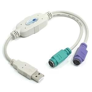 ルートアール USB-PS/2 変換ケーブル RC-U2MK