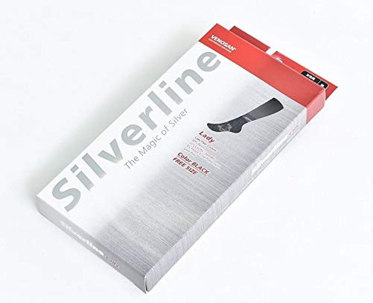 特殊カフェテリア既にVENOSAN ベノサン Silverline 着圧ソックス