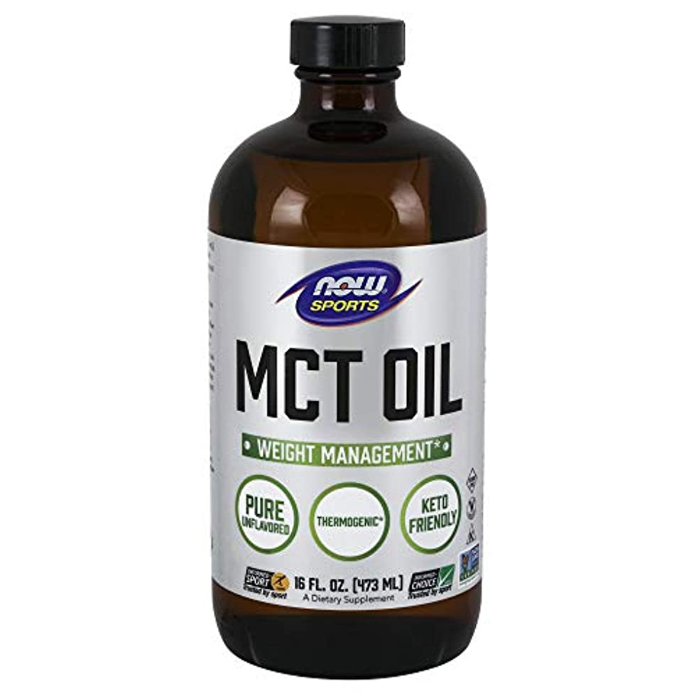 柔らかい足消毒剤に関してNow MCTオイル ショートボトル 473ml
