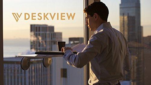 Deskview|窓にマウントして使用可能なスタンディングデスク「デスクビュー」