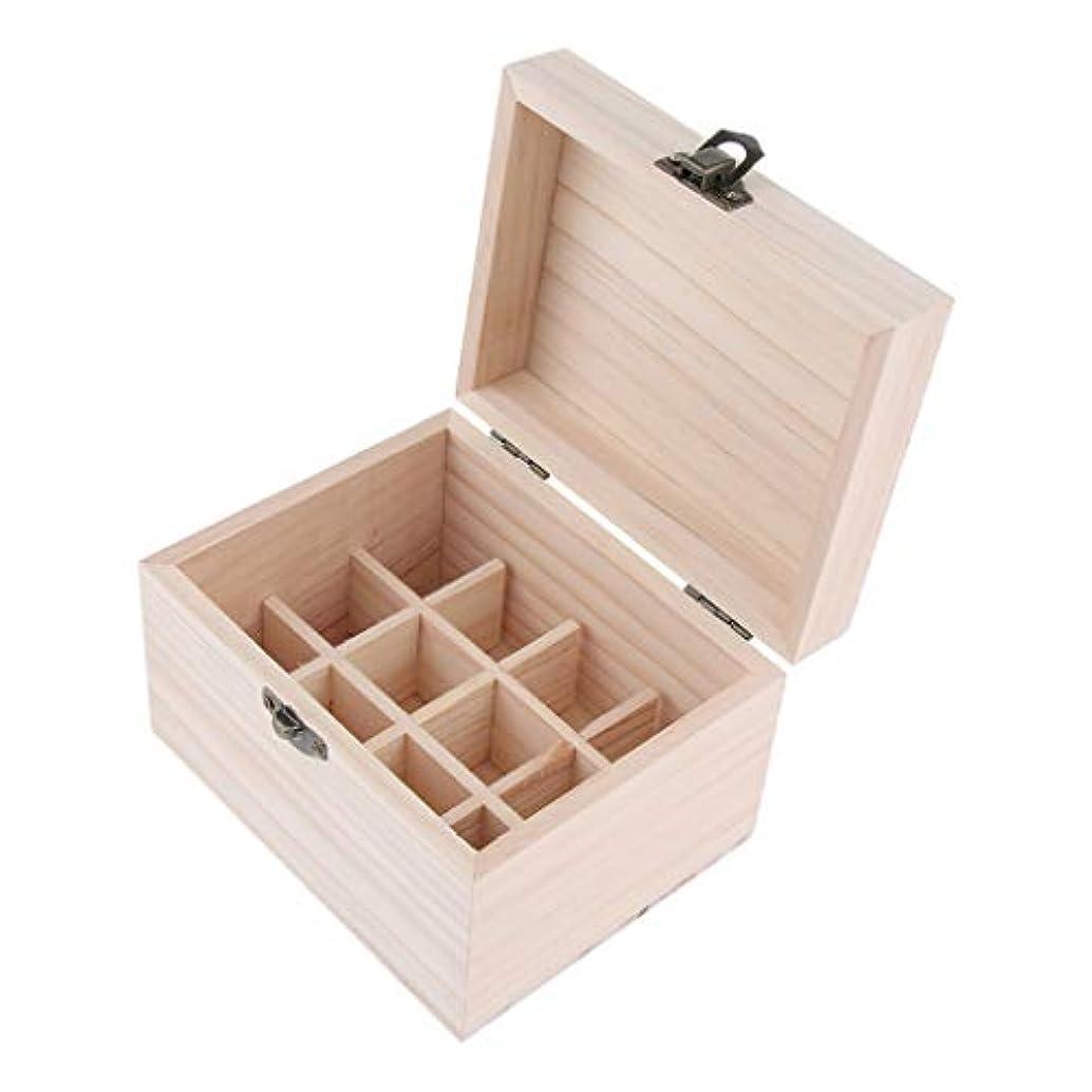 によって請求重荷エッセンシャルオイケース 木製 精油瓶 香水瓶 仕切板可動 12本用 10ミリボトル