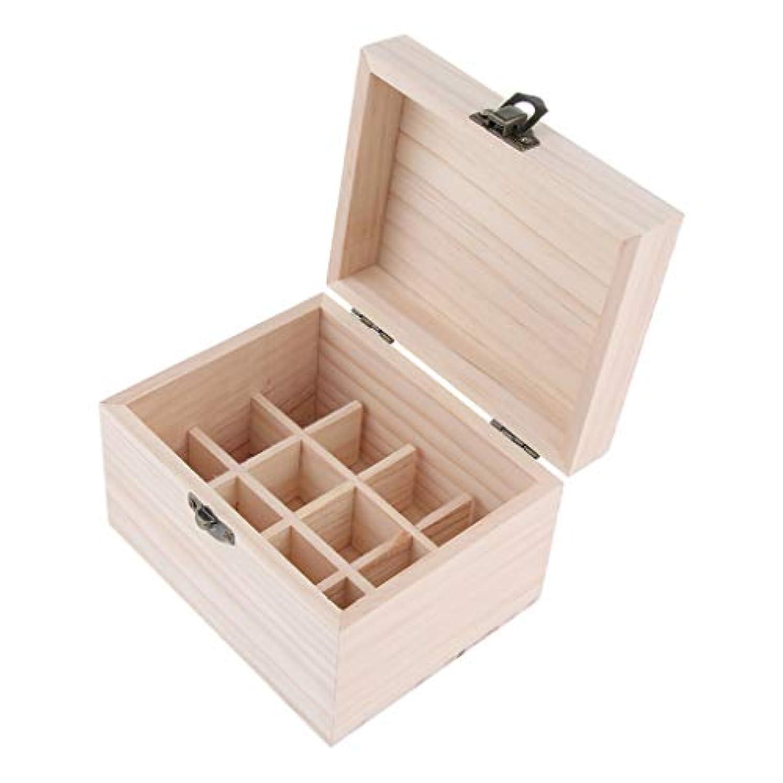流す文房具事務所エッセンシャルオイケース 木製 精油瓶 香水瓶 仕切板可動 12本用 10ミリボトル