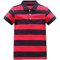 HowJoJo Boys Cotton Long Sleeve T-Shirts Cute Monster Shirt Graphic Tees