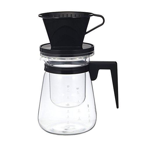 イワキ リラッサ アイスコーヒーメーカー ブラック (KT8966CSBK) 1L