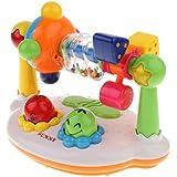 B Baosity 赤ちゃん 電子おもちゃ 早期開発おもちゃ ライト音楽付き 音楽おもちゃ ラトル