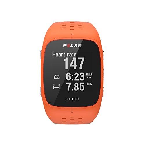 POLAR(ポラール) 【日本正規品/日本語対応】手首型心拍計・GPSランニングウォッチ M430 オレンジ 90064409 オレンジ