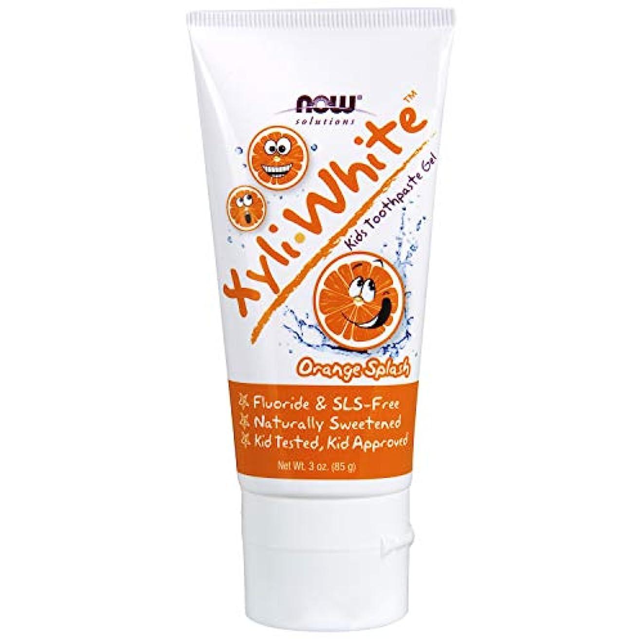 委員長大邸宅歯子供用 キシリホワイト オレンジスプラッシュ 歯磨き粉ジェル 85g/3オンス 並行輸入品 XyliWhite™ Orange Splash Toothpaste Gel for Kids - 3 oz. 海外直送品