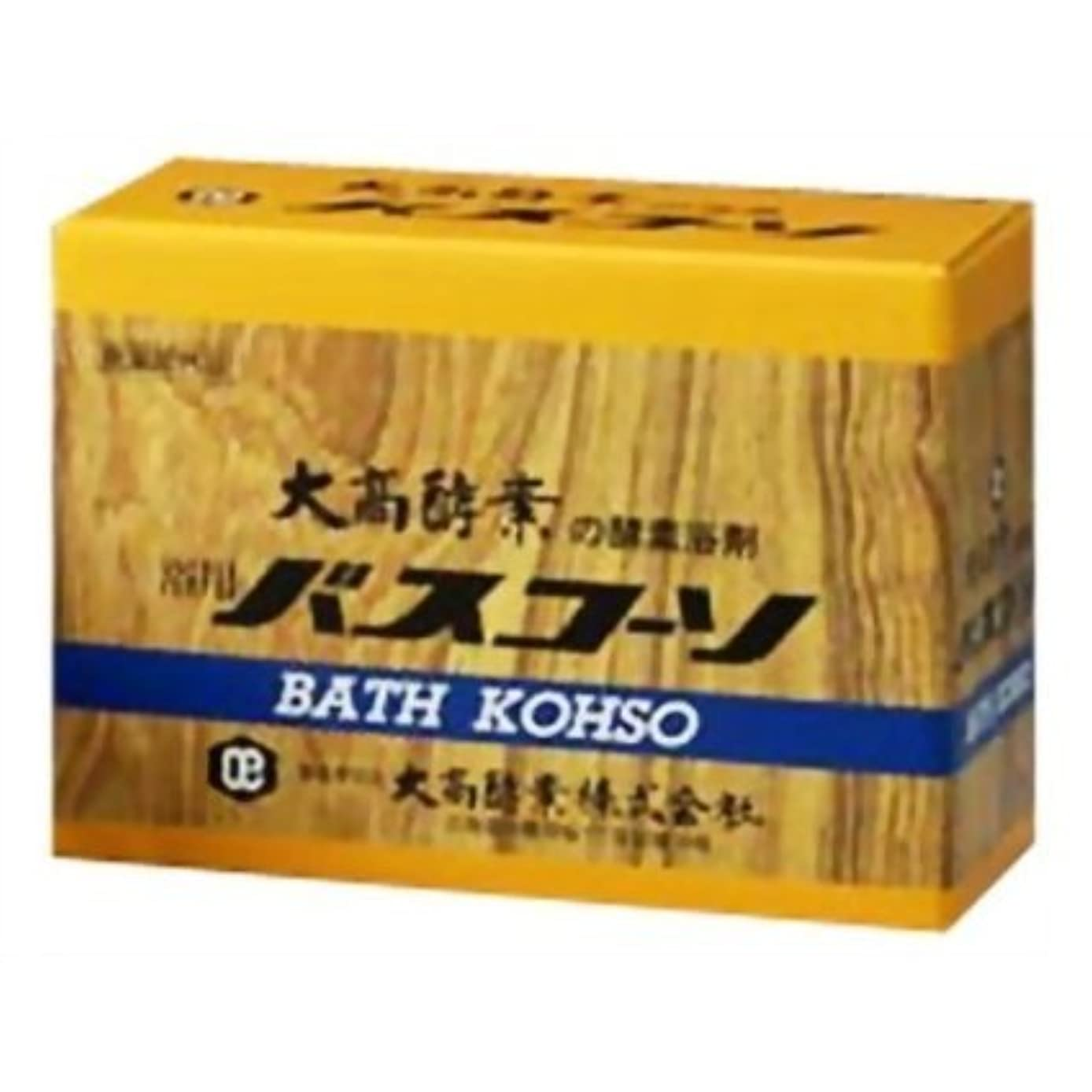 ファイタージャンピングジャック十分ではない大高酵素 浴用バスコーソ 100gx6 【4個セット】