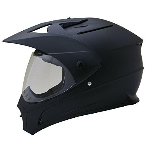 ネオライダース (NEO-RIDERS) ZX シールド付 オフロード ヘルメット マットブラック Lサイズ 59-60cm SG/PSC ZX