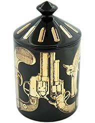 FORNASETTI PROFUMI フォルナセッティー プロフーミ  CANDLE キャンドル Pistole Nero Gold
