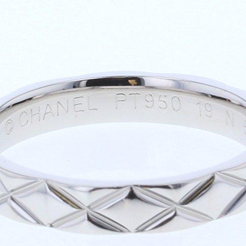 480493391dec ... (シャネル) CHANEL マトラッセ リング・指輪 プラチナPT950 レディース 中古 [PD1] ...