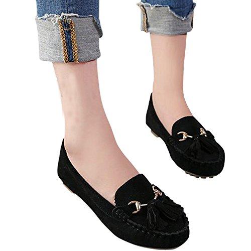 [해외]pirouette 술 모카신 슈즈 스웨이드 화가 여성/pirouette tassel moccasin shoes suede ladies