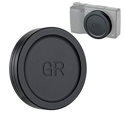JJC レンズキャップ Ricoh リコー GR III GR II GR3 GR2 専用 レンズ保護 防塵 アルミニウム合金製