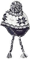 phenix(フェニックス) ジュニア スキー 帽子 Snow Crystal Ear Beanie Girl's ネイビー サイズ:JF
