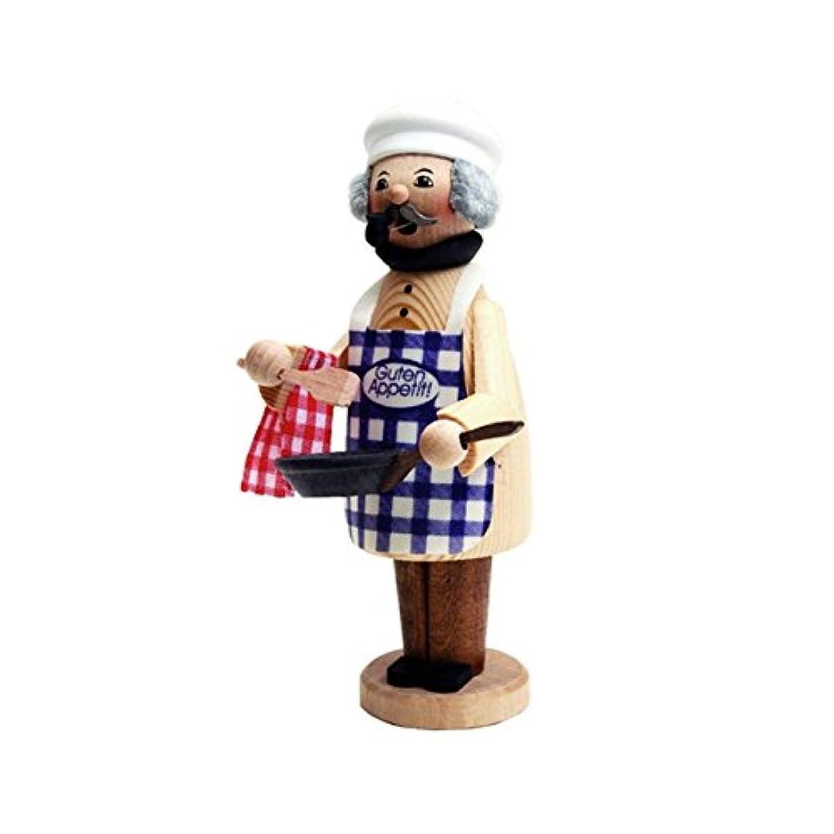 温度計で出来ているアラビア語クーネルト ミニパイプ人形香炉 コック
