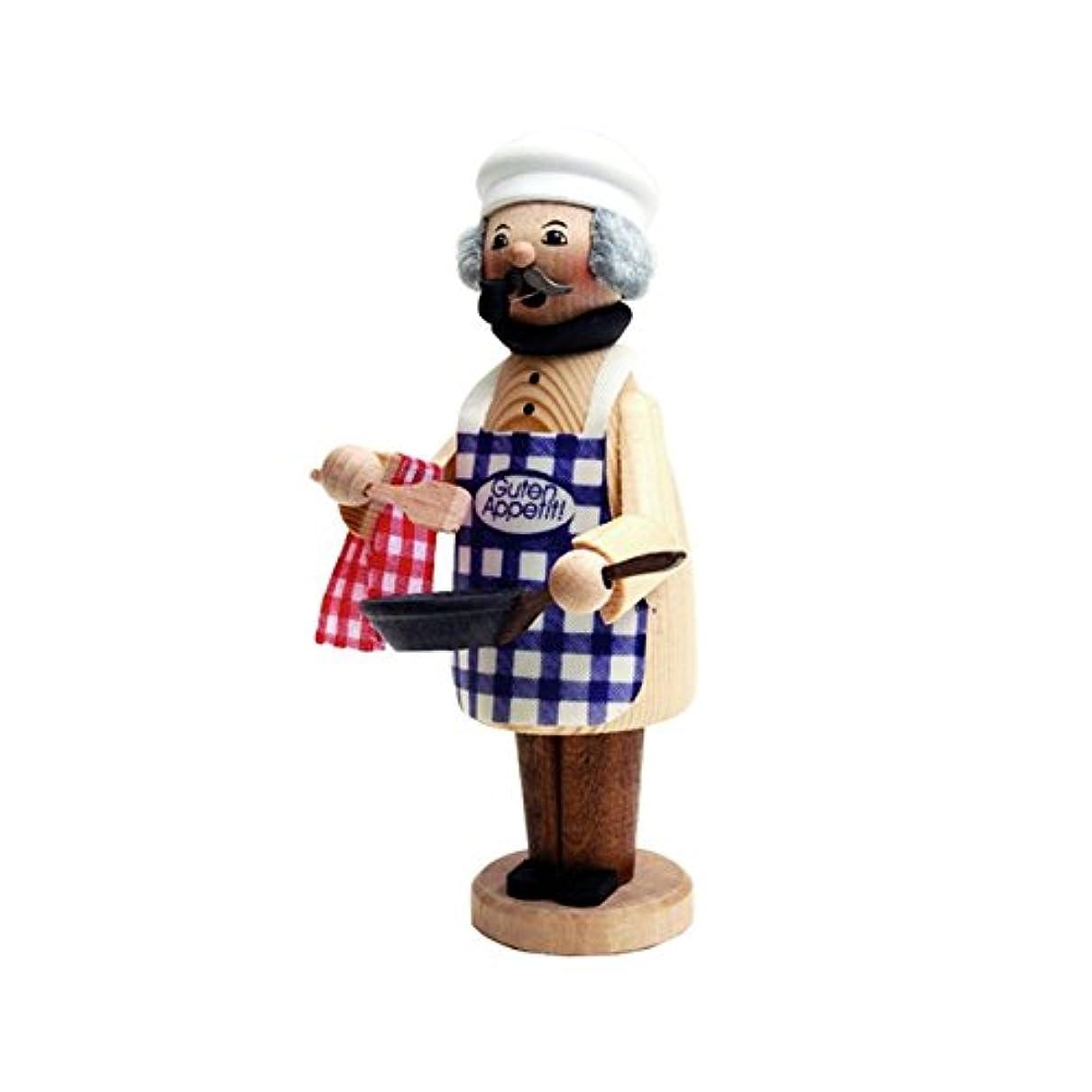 誰食事を調理するスポンジクーネルト ミニパイプ人形香炉 コック