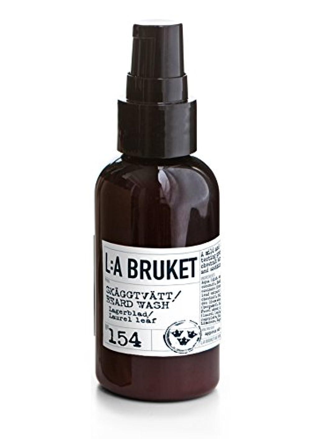 人に関する限り泣くエクステントL:a Bruket (ラ ブルケット) ビアードウォッシュ (ローレルリーフ) 60ml