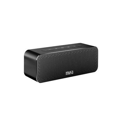 MIFA A20 Bluetooth スピーカー【TWS機能対応/ステレオサウンド/低音強化/デュアルドライバー/ハンズフリー通話/SDカード機能付き】