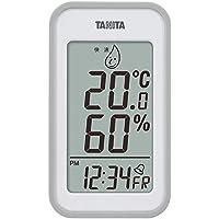 タニタ 温湿度計 デジタル グレー TT-559 GY 壁掛け 卓上 マグネット
