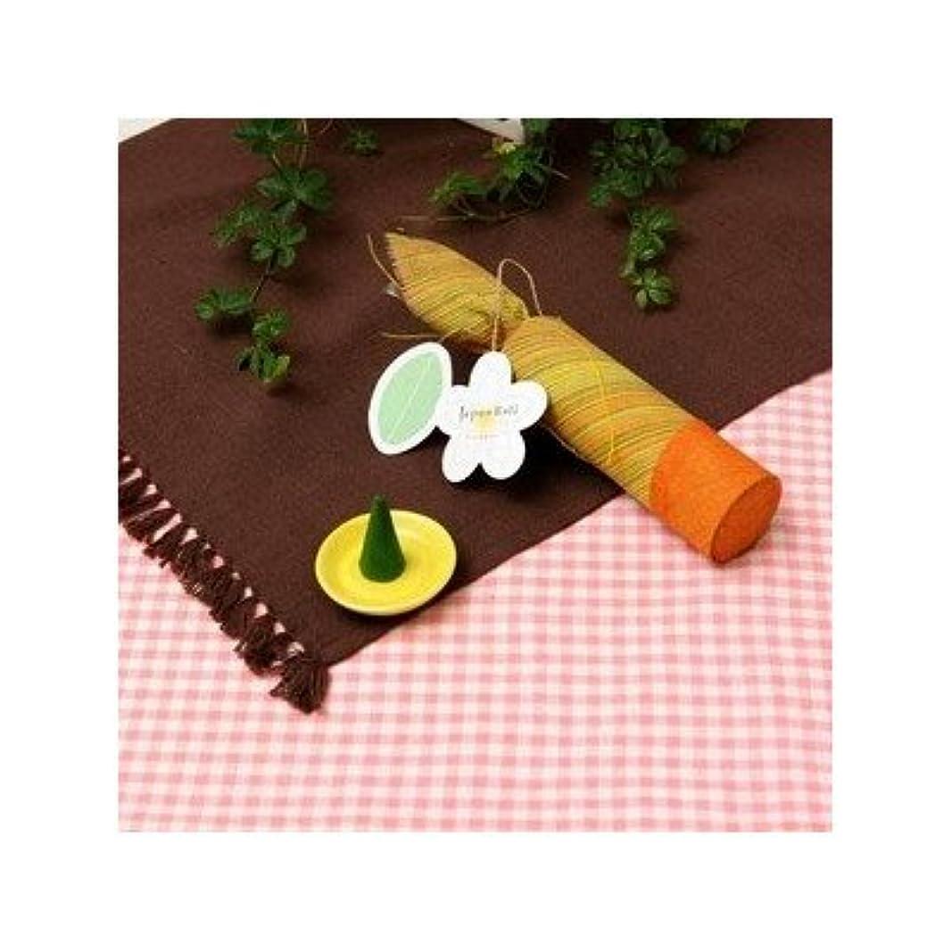 お香/インセンス 〔フランジパニの香り コーンタイプ10個入り〕 バリ島製 「Jupen Bari/ジュプンバリ」[通販用梱包品]