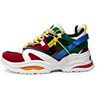 Casual Shoes Comfortable Sneakers Jogging Breathable Anti Slip Boots, Shoe Size:44(White) Casual Shoes