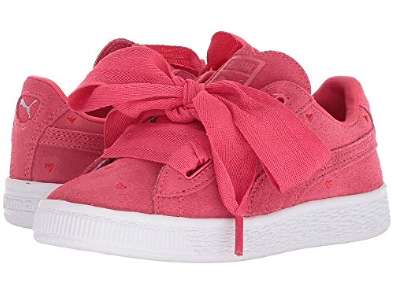 [PUMA(プーマ)] キッズスニーカー?靴 Suede Heart Valentine (Little Kid) Paradise Pink/Paradise Pink 10.5 Little Kid (16.5cm) M