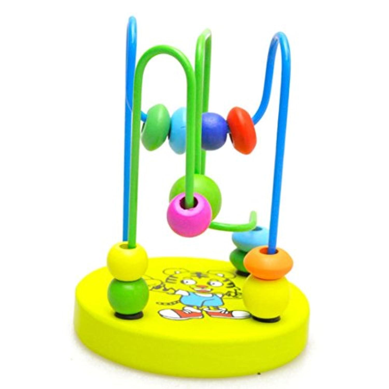 cmrtew Developmental木製Around Bead Maze Gameインテリジェンスおもちゃ