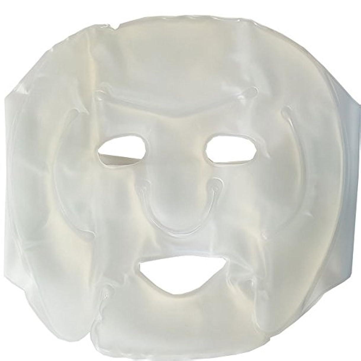 夜間番目気づくなるMDP 顔マッサージジェルマスク アイスジェルパック 冷却パック アイスマスク アイスパック レーザー後の鎮静に グリーン
