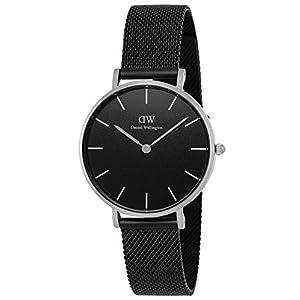 [ダニエル・ウェリントン]Daniel Wellington 腕時計 Classic Petite Black Ashfield ブラック文字盤 DW00100202 【並行輸入品】