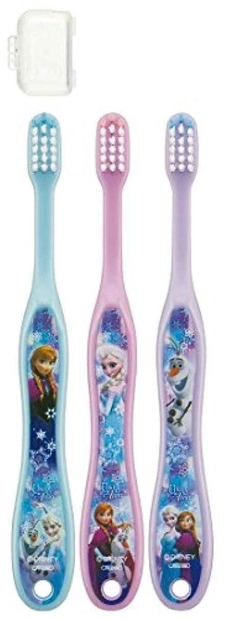 悪党取り付け色合いスケーター 歯ブラシ 園児用 3-5才 毛の硬さ普通 3本組 アナと雪の女王 15 TB5T