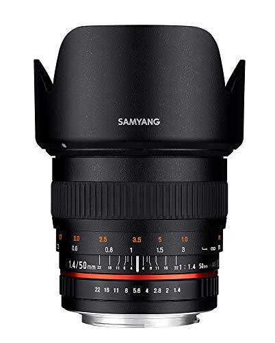 SAMYANG 単焦点標準レンズ 50mm F1.4 キヤノン EF用 フルサイズ対応