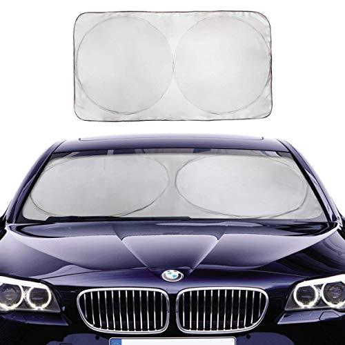 サンシェード 車 フロント Kmmin 駐車 ガラス 断熱 遮光 3サイズ 日よ...