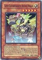 Yu-Gi-Oh! - Super-Electromagnetic Voltech Dragon (EOJ-EN031) - Enemy of Justice - 1st Edition - Super Rare