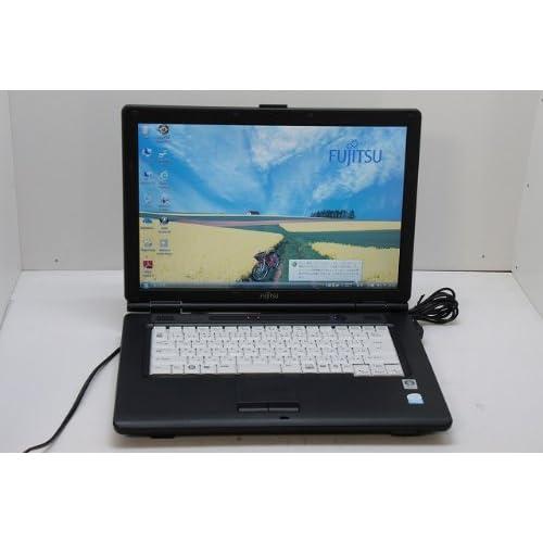 中古ノートパソコン 富士通 【FMV-A8270】Intel Celeron 575 2.00GHz 80GB 2GB DVDコンボ 15.4w Windows Vista Business