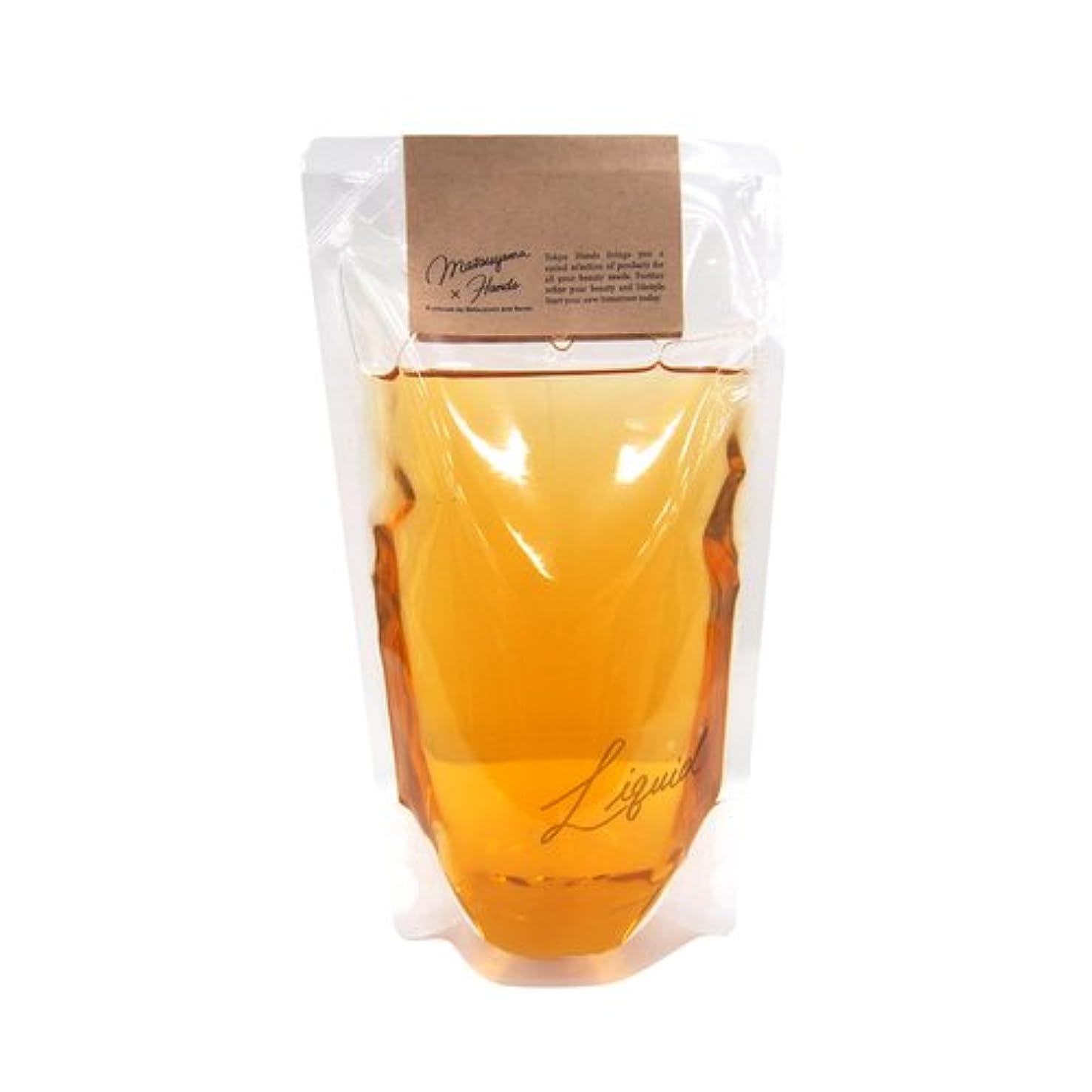 我慢する原子円形の松山油脂×東急ハンズ 東急ハンズオリジナル モイスチャーリキッドソープ カモミール替 280mL