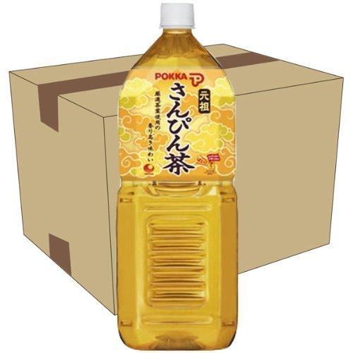 沖縄ポッカ さんぴん茶 (ジャスミン茶) 2L×6本セット