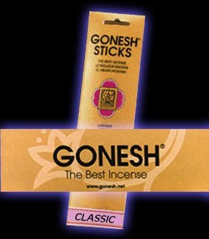 後方薄汚いお願いしますGONESH インセンス スティック No.10