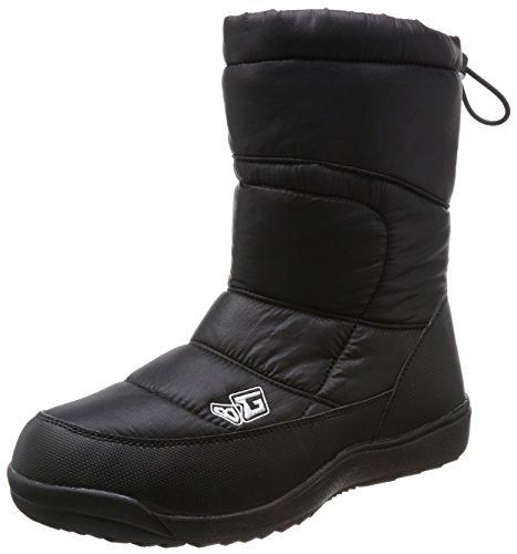 [ボディーグローブ] スノーブーツ ウィンターブーツ 4cm防水 防水防滑 スノトレ BG996 12109960 BLACK 26 cm