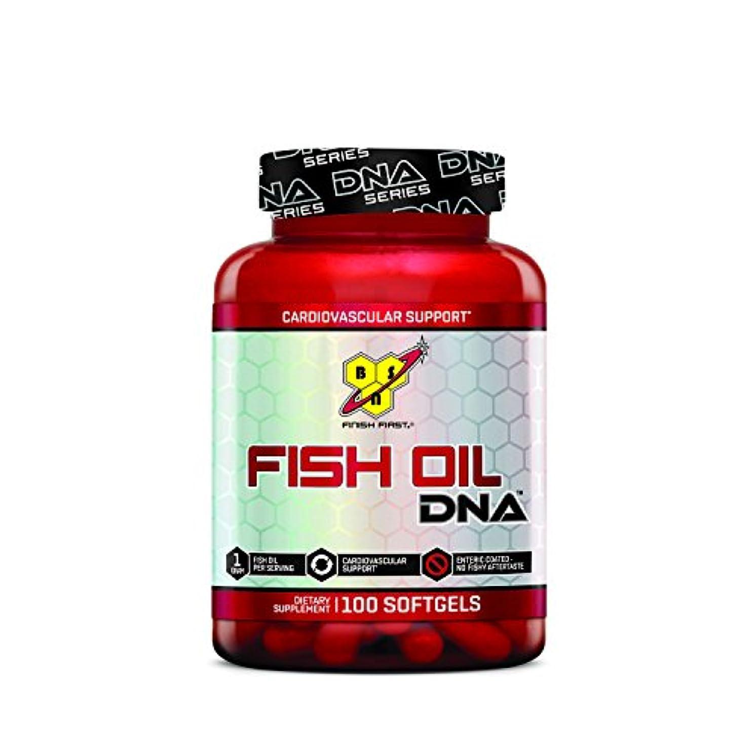 クリームレスリング薄めるBSN FISH OIL DNA - 100 softgels 海外直送品
