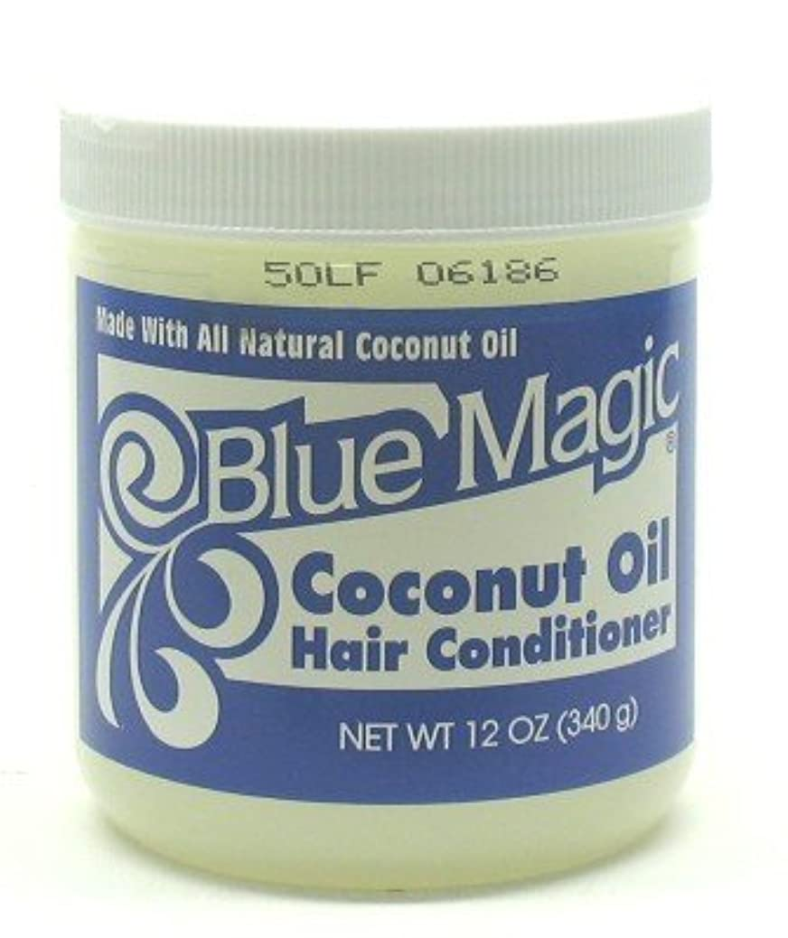 焼くパン屋法律によりBlue Magic Coconut Hair Conditioner 355 ml (Case of 6) (並行輸入品)
