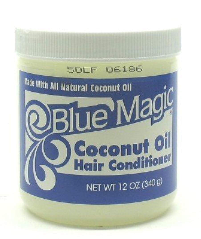幹受ける平らにするBlue Magic Coconut Hair Conditioner 355 ml (Case of 6) (並行輸入品)