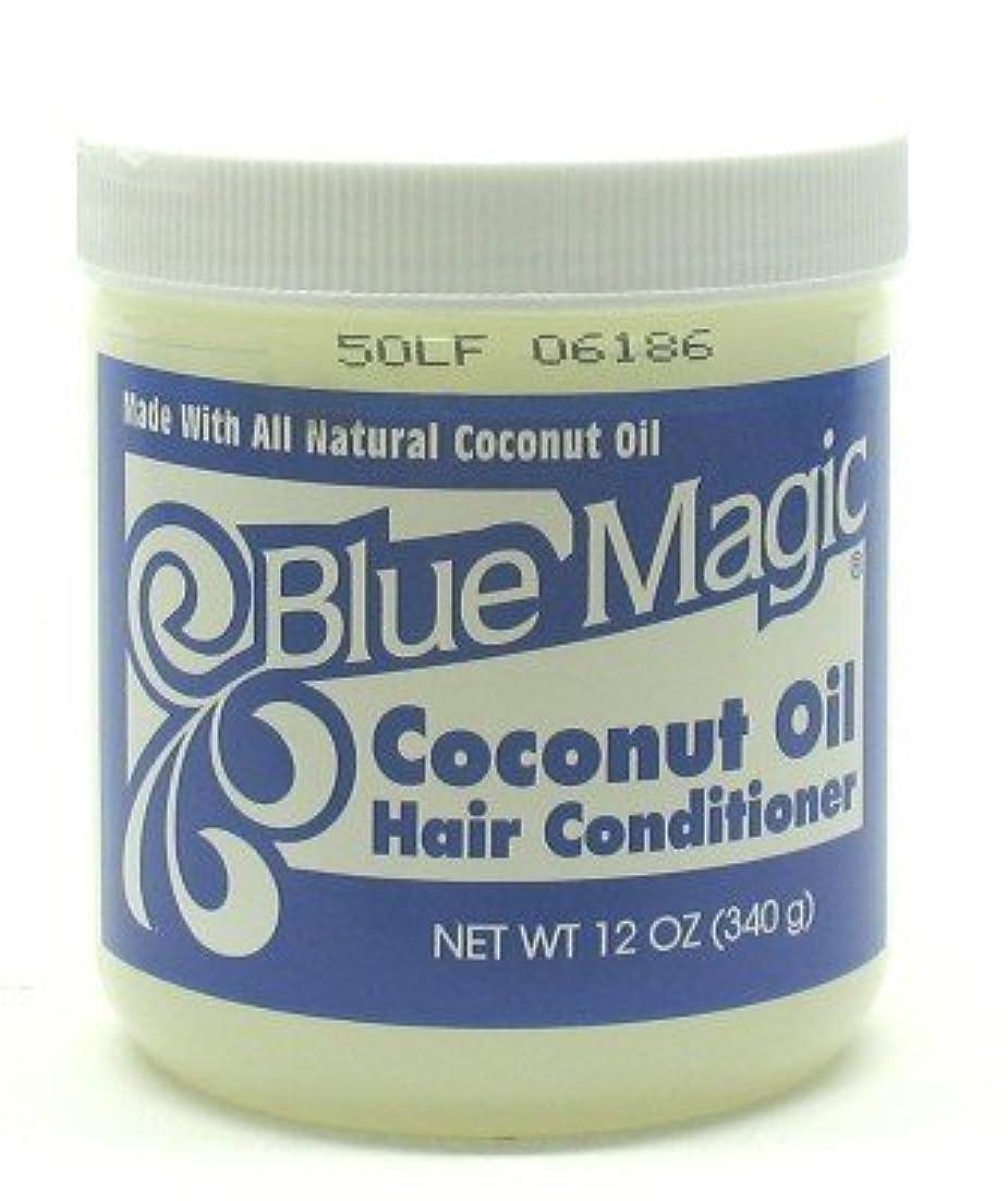 居住者ファランクスマーティンルーサーキングジュニアBlue Magic Coconut Hair Conditioner 355 ml (Case of 6) (並行輸入品)