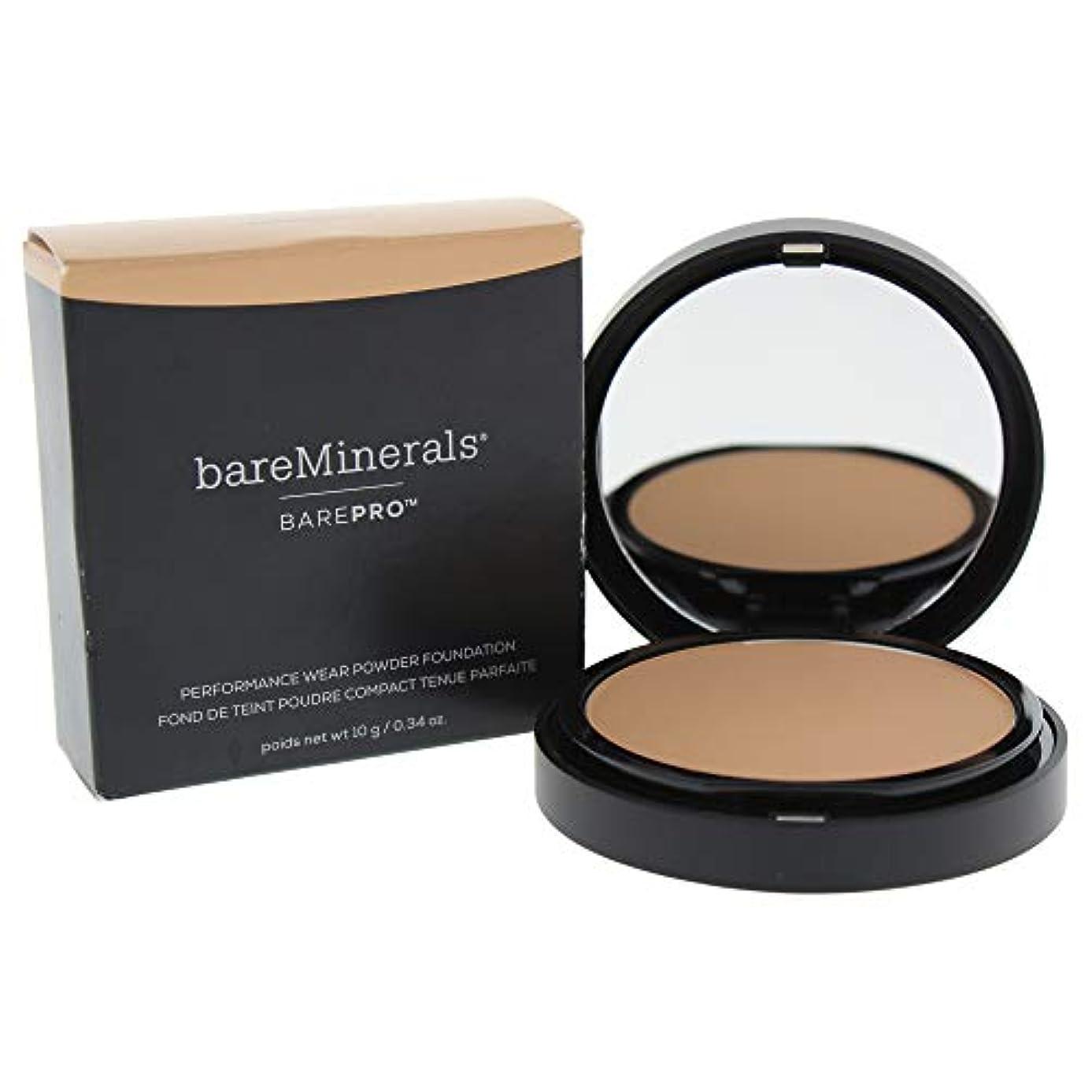 くぼみまたね残高ベアミネラル BarePro Performance Wear Powder Foundation - # 16 Sandstone 10g/0.34oz並行輸入品