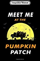 Composition Notebook: Meet me at the Pumpkin Cute Patch Halloween Costume  Journal/Notebook Blank Lined Ruled 6x9 100 Pages