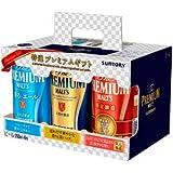 【醸造家の贈り物入り】サントリー ザ・プレミアム・モルツ 3種アソート6缶セット 特選プレミアムギフト 350ml×6缶