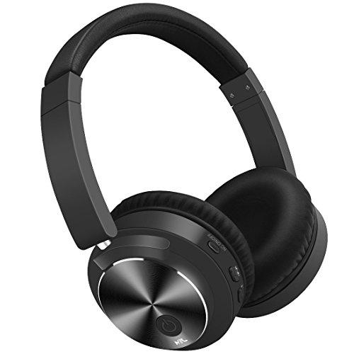 Kimitech Bluetooth ヘッドホン ノイズキャンセリング 密閉型 高音質 内蔵マイク NFC搭載 ケーブル着脱式 12時間再生 ハンズフリー通話可能 iphone PC Mac などに対応