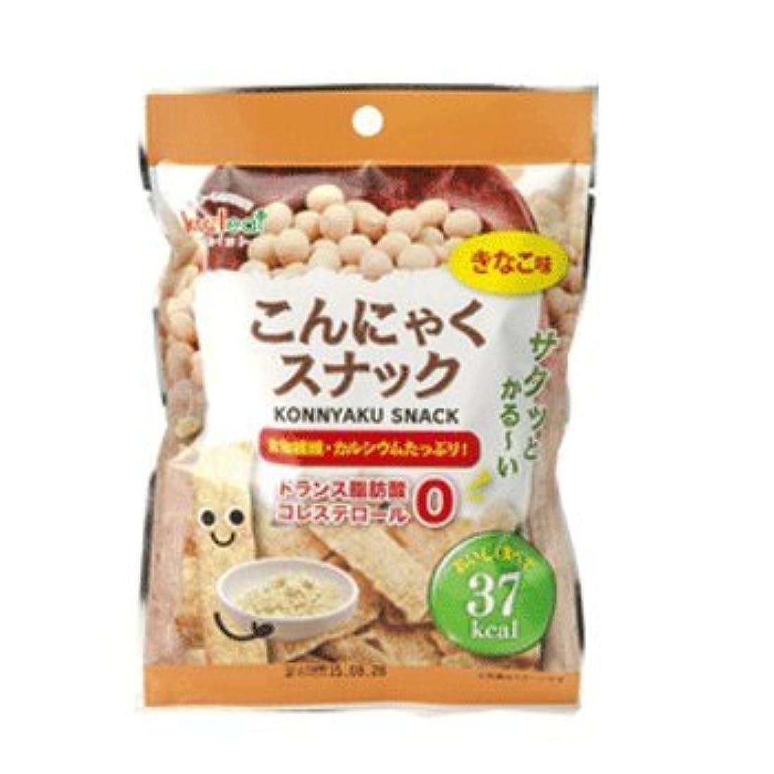 こんにゃくスナック きなこ味(1袋10g)×20袋入