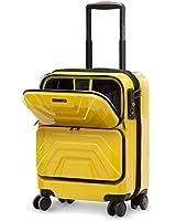 LUSHBERRY スーツケース 機内持込 トップオープン フロントオープン人気 可愛い カッコイイ キャリーケース 静音 TSAロック 旅行 出張 超軽 8輪 小型