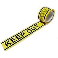 バリケードテープ 粘着テープ おもしろ雑貨 立入禁止 KEEP OUT キープアウトテープ+スマホスタンド付/SV442S