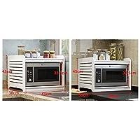 ZHWEI キッチンシェルフ49 * 38 * 45センチメートルラックキッチン調味料入れストレージラック 幅広い用途 (Size : 58cm)